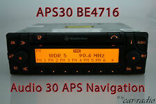 Original Mercedes sistema de navegación audio 30 APS be4716 becker radio APS 30 Navi