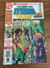 New Teen Titans #16 (1982) 1st app Captain Carrot and His Amazing Zoo Crew NM-