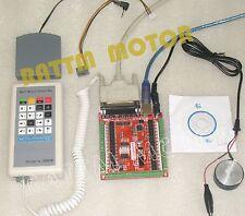 CNC USB LPT Mach3 CNC 6 Axis Stepper Motor Controller Manual Control Box CNC Kit