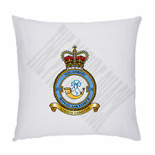 RAF 32 ROYAL SQUADRON BADGE ON CUSHION / PILLOW INCLUDING PADDING. 45cm X 45cm