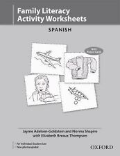 Oxford Picture Dictionary Activity Worksheets Spanish (pack of 10): Bilingual Wo