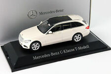 Mercedes-Benz C-Klasse T-Modell diamantweiß metallic bright 1:43 Norev