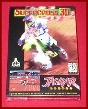 Supercross 3D for the Atari Jaguar System NEW SEALED