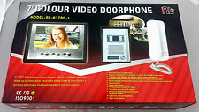 "Easy Set Up NEW VIDEO DOOR INTERCOM / PHONE SYSTEM 7"" Color Screen  RL-037BD-1"