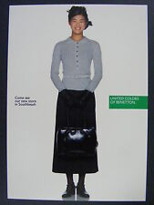 United Colors Of Benetton Fashion Southbeach Color Promo Advertising Postcard