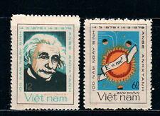 N.348-Vietnam- Birthday centenary of Albert Einstein set 2 1979