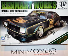 KIT NISSAN SKYLINE KEN&MARY 2Dr LB PERFORMANCE 1/24 AOSHIMA 09819 KENMARY WORKS