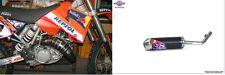 SCALVINI MARMITTA SCARICO COMPLETO ESPANSIONE KTM SX 125 2004 NERO/INOX