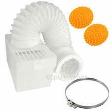 100cm Wall Mountable Condenser Box Hose Clip & Balls for HOWDENS Tumble Dryer