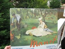 "Vintage Puzzle 1976 Manet: ""The Monet Family in Their Garden""Collectors Sealed"