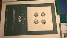 Rare Judy Severson Hand Embossed Quilt Exhibition Print Poster 1984 SALE