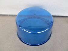 FEDERAL SIGNAL 184 DIETZ 211 711 BLUE BEACON LIGHT ROTATING REVOLVING DOME LENS