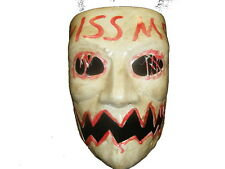 THE PURGE 3 KISS ME HALLOWEEN MASK ELECTION YEAR COSTUME FANCY DRESS UP 1 2 NEW