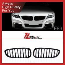 Z4 E89 Front Grill Grille shiny Black 30i 28i sports 09 10 11 12 13 14 For BMW