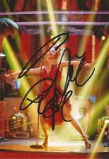 STRICTLY COME DANCING: PIXIE LOTT SIGNED 6x4 SEXY ACTION PHOTO+COA **PROOF**