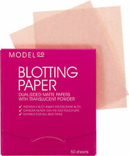 BNIB MODEL CO MODELCO BLOTTING PAPER DUAL SIDED MATTE TRANSLUCENT POWDER