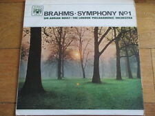 BRAHMS - SYMPHONY NO. 1 - ADRIAN BOULT - LP/RECORD - MABLE ARCH - MAL 555