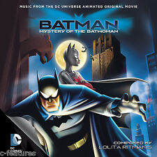 BATMAN MYSTERY BATWOMAN Lolita Ritmanis CD Soundtrack Score BTAS La-La Land NEW