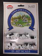 Model Power O Scale Cows And Calves Pack (6 Figures) - MP6175