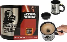 Star Wars Darth Vader Self Stirring Mug Mix Coffee with the Force New MIB Mint