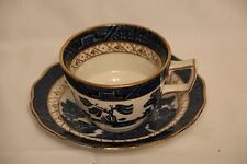 Booths Real Old Willow - Gilt - Tea Cup and Saucer - multiples available.