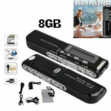 650Hr USB LCD Screen Digital Audio Voice Recorder Dictaphone MP3 Player LXE