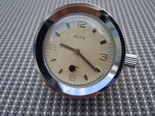 Montre de bureau Elta Mouvement mécanique 15 rubis vers 1970