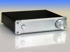 Indeed Audiophile Quality Class D TDA7498E 160WX2 Stereo Amplifier Silver Panel