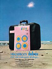 PUBLICITE ADVERTISING  1969   DELREV   draps literie linge de maison