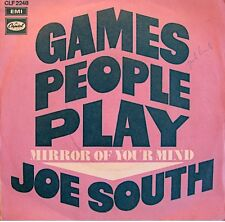 ++JOE SOUTH games people play/mirror of your mind SP 1969 EMI RARE VG++