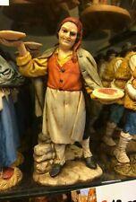 1 pastore landi 13 cm porta piatti cibo  presepe crib shereped