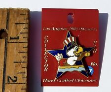 Los Angeles 1984 Olympics Collector Pin #64 Coxwain Rowing Sam Olympic Eagle