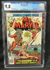 Ms. Marvel #15 (1978) CGC 9.8 White Pages Comic Book P538