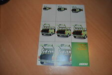 CATALOGUE Fiat 128 Break 3 portes  de 1973
