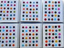 180 Piece -Multi Color Size Indian Bindi Round Dots Tattoo - MEDIUM SIZE
