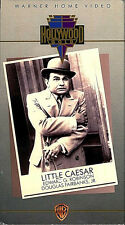 LITTLE CAESAR WARNER HOME VIDEO B&W VHS NEW FREE SHIPPING TRACKING CONT US