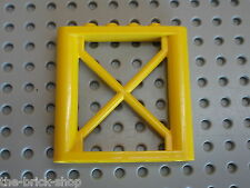 LEGO CITY yellow Support Girder Rectangular ref 64448 / 7632 5887 4645 5883 ...