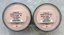 Bare Minerals Escentuals SPF 15 Foundation FAIRLY LIGHT - N10 8g XL  PACK OF 2
