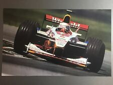 2000 Alex Zanardi's Winfield Racing Indy Car Print Picture Poster RARE!! Awesome