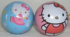 Hello Kitty CHRISTMAS HOLIDAY ORNAMENTS SET OF 2 MINI PUZZLE PINK FREE SHIPPING