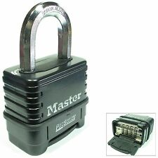 Lock by Master 1178 Resettable Combination Sealed Carbide FREE SHIP $25 & MORE