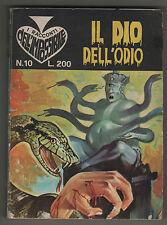 I RACCONTI DELL' IMPOSSIBILE N.10 IL DIO DELL' ODIO editoriale corno 1967