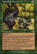 MTG magic cards 1x x1 Light Play, English Saproling Burst Nemesis