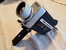 Nikon Super Zoom 8 Movie Video Camera 45 MM lens