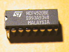 HCF4520BE MALAYSIA 16DIP ST MICROELECTRONICS