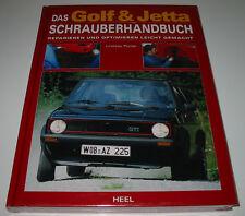 Reparaturanleitung VW Golf I II GTI Typ 17 / 19E + Jetta Schrauberhandbuch NEU!