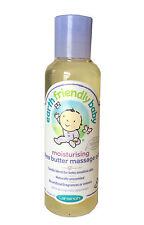 Tierra amigable Bebé Hidratante Manteca De Karité de aceite de masaje 125ml-Todo Natural