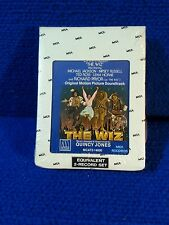 THE WIZ MOVIE SOUNDTRACK 8 TRACK SEALED NEW MICHAEL JACKSON DIANA ROSS MOTOWN
