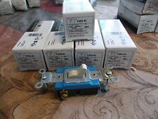NEW Leviton 1203-21 Ivory Commercial Toggle Switch 3-Way, Lot of 6 *FREE SHIP*