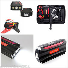 68800mAh 4USB Charger Car Jump Starter Power Bank Rechargable Battery Emergency